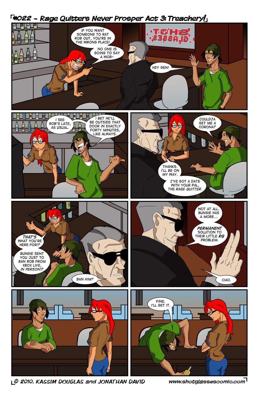 Rage Quitters Never Prosper Act 3: Treachery